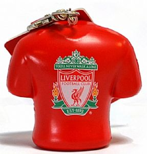 Liverpool  FC chunky PVC stress relief keyring (bb)